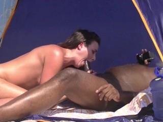 Caribbean interracial sex 1 voyeur asks if he...