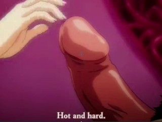 Curious anime stepsister masturbates in front of brother...