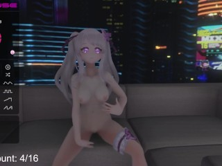 Riding cock in VR!