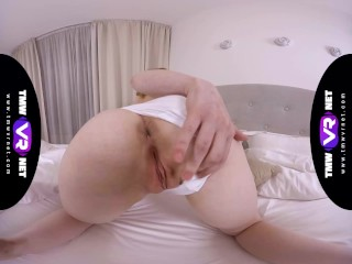 TmwVRnet – Sweetie Plum – Long trip makes her pussy wet