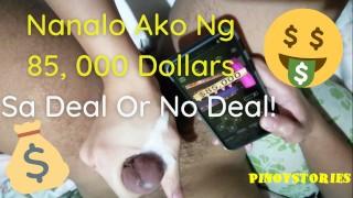 Pinoy Bagets Jinakol ng Maharot na Pinay Habang Naglalaro ng Video Game sa Samsung - Deal or No Deal