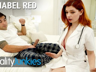 Reality Junkies – Big Titted Redhead Nurse Annabel Red is better than a blue pill