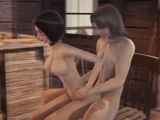 Young couple fuck at bar – Alita cute hentai 18+