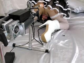 Multiply shemale chastity sissygasm w o ejaculation machine...