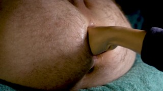 Close up fisting his ass + she suck his rose 4K