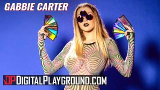 digitalplayground – huge tit hippy gabbie carter teen gets cumshot in her third eye – teen porn