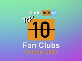 Top fan clubs october 2020 pornhub model gay...