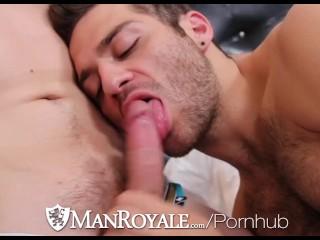 Manroyale numerous hot horny hunks go to pound...