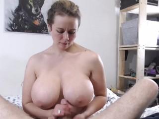 Milf huge tits handjob Mom Handjob Porn Videos Fuqqt Com