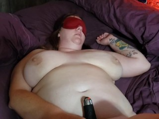 Chubby wife begs for creampie after fisting...