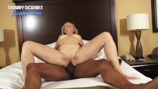 DOCEAN Hot Granny Asshole Flooded With Cum By Black Dick