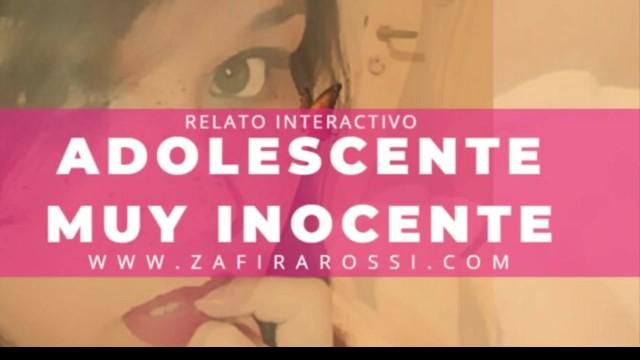 ROLEPLAY JOVENCITA VIRGEN, DULCE E INOCENTE  RELATO ERÓTICO INTERACTIVO [ASMR] STORIES IN SPANISH 18