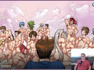 So many harem funny gameplay commentary...