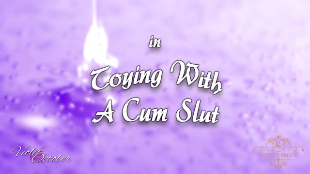 Toying With A Submissive Cum Slut - Dirty Talk, Blowjob, and Cum Eating Instructions, Bisexual 19