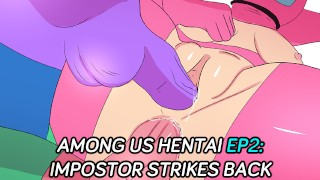 Among us Hentai Anime UNCENSORED Episode 2: Impostor strikes back