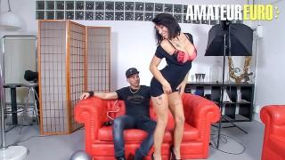LasFolladoras - Suhaila Hard Big Tits Spanish MILF Fucks Lucky Pizza Delivery Guy - AMATEUREURO
