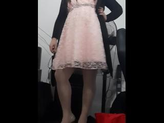 Man wearing sexy heels...