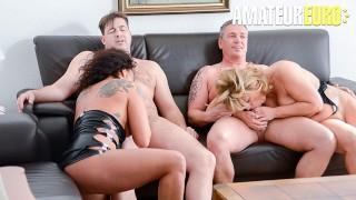 ReifeSwinger - Chubby German Matures Intense Kinky Swinger Foursome - AMATEUREURO
