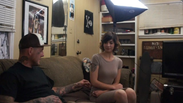 SEXY PETITE TEEN GETS PUSSY POUNDED BY HUNG LUCKY TATTOOED GUY #DIRTYSHED 2