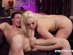 PrivateDOTcom - Victoria Summers Milks Cock With Curvy Cunt!