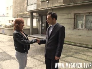 Girl gets tricked into by the fake real...