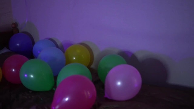 Threesome on birthday party 6
