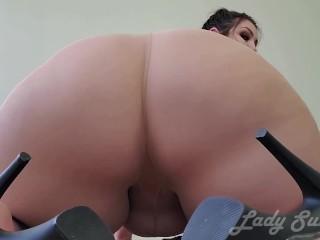 Bbw fat booty tights ass worship...