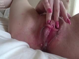 My little creamy pussy cum!