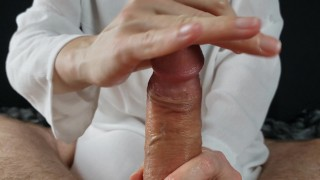 Long slow Edge and masturbation handjob