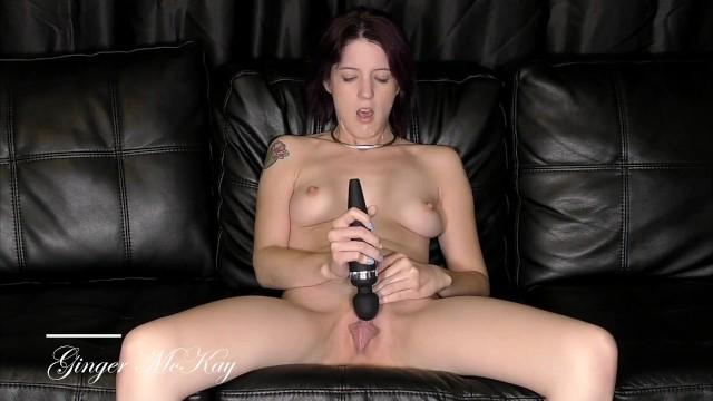 Petite submissive - sloppy blowjob, facial, and cum covered masturbation 18