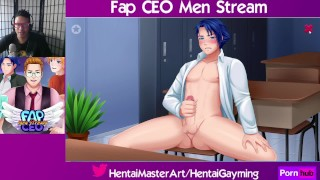 Checkmate! Fap CEO Men Stream #33 W/HentaiGayming