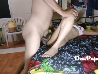 Indian Bhabhi Anal Sex With Her Husband First Time While Watching Porn