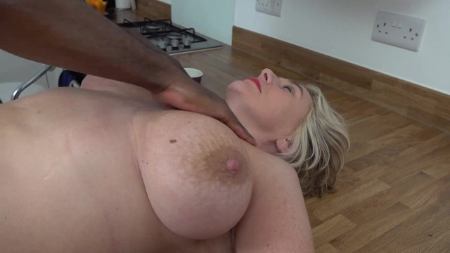 Jean Claude Makes Camilla Squirt on the Kitchen Counter 7