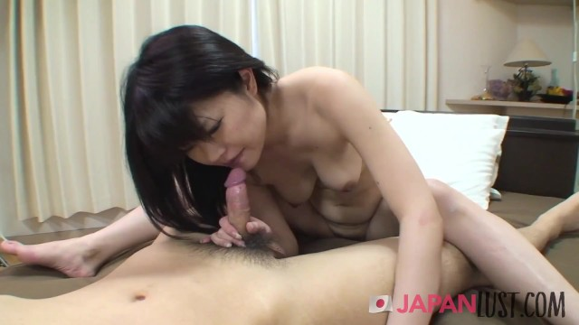 Shy Japanese Gives Her Hairy Pussy 16