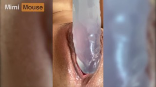 Masturbating in Shower while my Roommates Are Home -Mimi Mouse