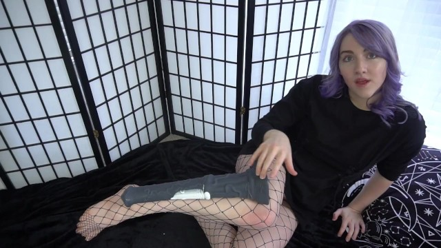 Comparing And Fucking Huge Gigantic Dildos In Tight Pussy 2