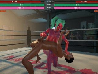 Naked fighter 3d sfm hentai mixed with giant...