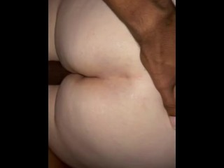 Fat assed Pawg wife with fuck buddy