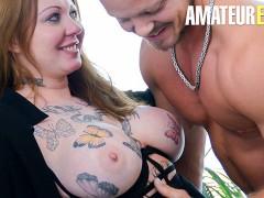 ReifeSwinger - Tattooed Polish Newbie Hot Shower Fuck With Big Dick Stud - AMATEUREURO