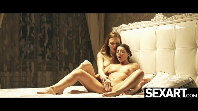 Watch these naked lesbian beauties eat each other's pussy avidly