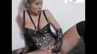 Hot Latin MILF gettin Creemy pussy and ass with some whipcream