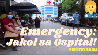 Pinoy Hunk Nagsarili sa Pasig City General Hospital (Umuwi Din Agad Pagkatapos Pumutok ang Etits)