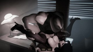 Sex in Noir Style [3D Hentai, 4K, 60FPS, Uncensored]