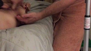 rubbing one out , getting caught and toyed with
