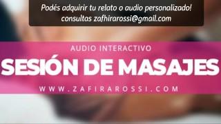 RELAXING PORN AUDIO [INTERACTIVO] SESIÓN DE MASAJES | ASMR [VOZ ARGENTINA]