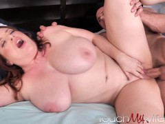 Horny Wife Promises... JUST a Blowjob for Landscaper