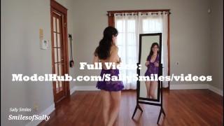 Lingerie Haul - Amateur Girl Next Door - Sally Smiles