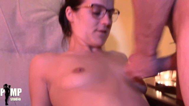 Big boobs TEEN use one of her husbands friends for a quick Blowjob 25
