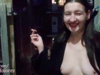 INHALE 53 Smoking and Outdoor Nudity with Gypsy Dolores