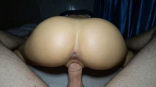big asian ass ride a step son dick